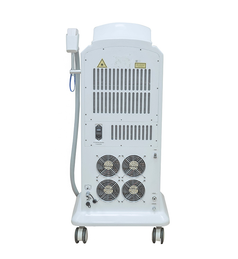755nm 808nm 1064nm 3 in 1 Diode Laser Hair Removal Machine